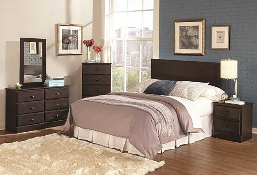 bedroom dark set groups headboard oak busters price product piece dresser mirror sers
