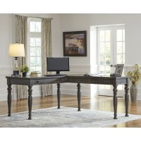 Devensted 2-Piece Home Office Desk