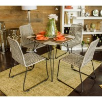 Square Outdoor Table Set