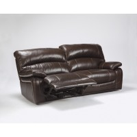 Damacio - Dark Brown - 2 Seat Reclining Power Sofa