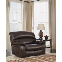 Damacio - Dark Brown - Zero Wall Wide Seat Recliner