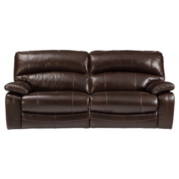 Damacio Dark Brown 2 Seat Reclining Sofa U9820081 Leather