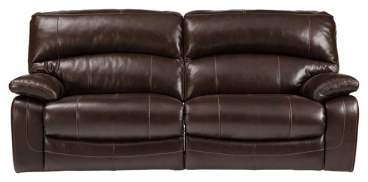 Damacio - Dark Brown - 2 Seat Reclining Sofa