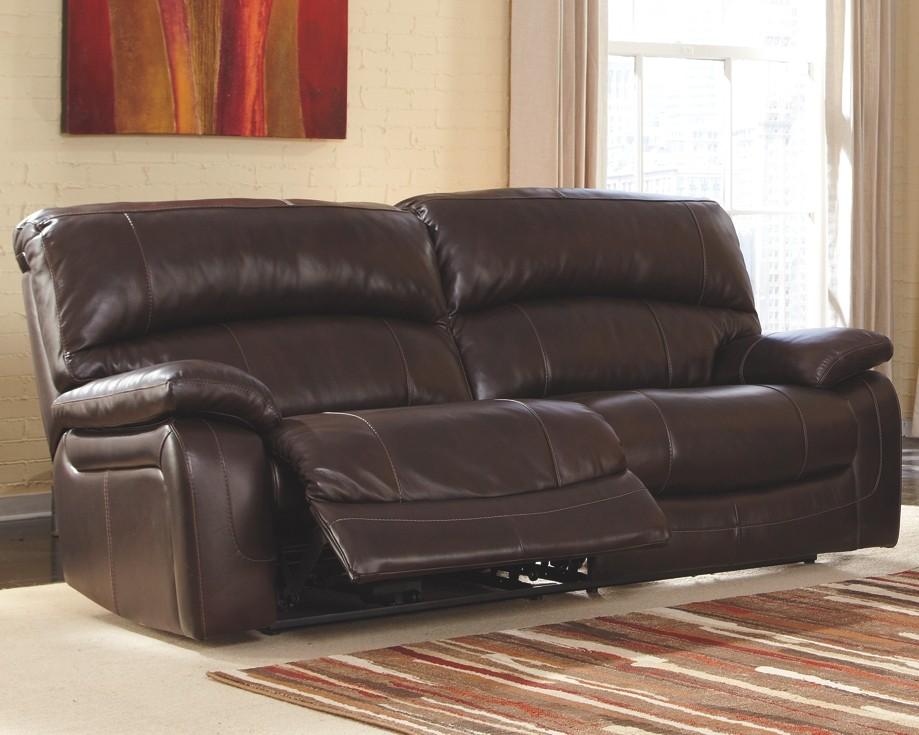 Stupendous Damacio Dark Brown 2 Seat Reclining Sofa U9820081 Onthecornerstone Fun Painted Chair Ideas Images Onthecornerstoneorg