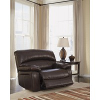 Damacio - Dark Brown - Zero Wall Power Wide Recliner