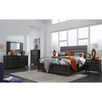 Proximity Heights Contemporary Queen Upholstered Bedroom