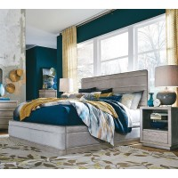 Pacifica Upholstered King - 5 Pc. Bedroom Set
