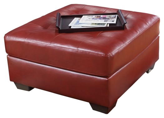 Alliston DuraBlend - Salsa - Oversized Accent Ottoman