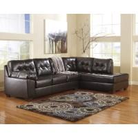 Alliston DuraBlend - Chocolate - LAF Sofa