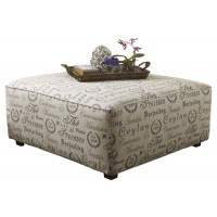 Alenya - Quartz - Oversized Accent Ottoman