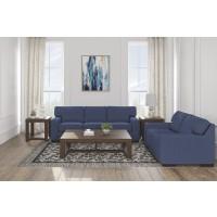 Ashlor Nuvella® Blue Living Room Group