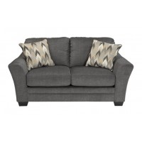 Braxlin - Charcoal - Loveseat