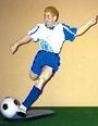 Equipación del Escuela de Fútbol Madrid Sur