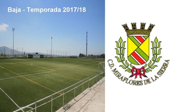 El C.D. Miraflores de la Sierra causa baja en Segunda Regional tras el ascenso de la temporada pasada