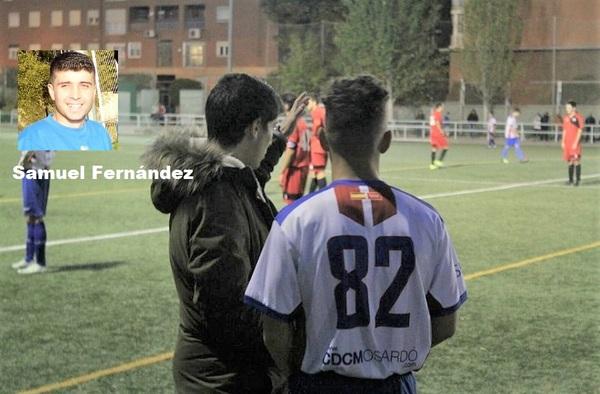 Carta de agradecimiento del técnico Samuel Fernández, tras su salida del C.D.C. Moscardó