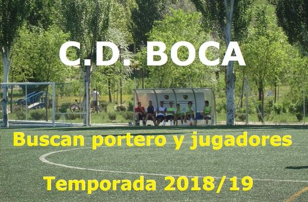El C.D. Boca, busca portero y jugadores para la temporada 2018/19