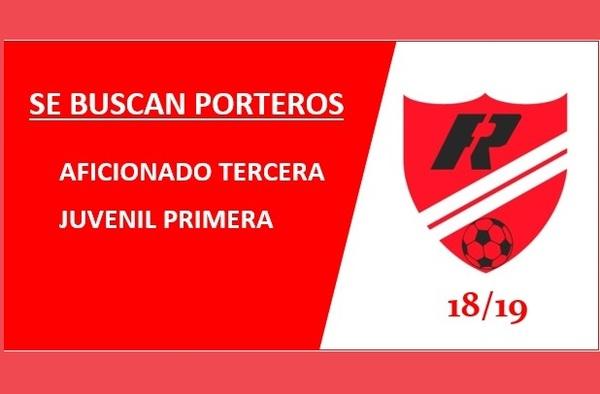 El Club Fuentelarreyna (zona norte de Madrid) busca Portero Aficionado y Juvenil para la temporada 2018/19