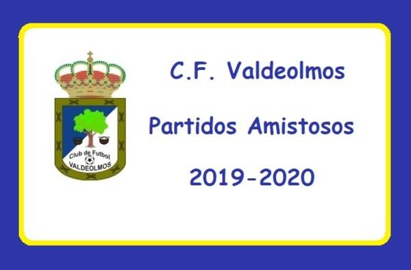 El C.F. Valdeolmos busca partidos de pretemporada 2019/20 contra equipos de 2ª y 3ª Regional