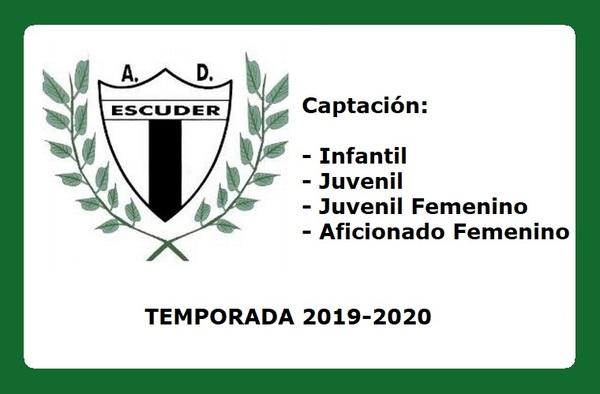 El Escuder San Pascual sigue buscando jugadoras y jugadores para completar plantillas - Temporada 2019/20