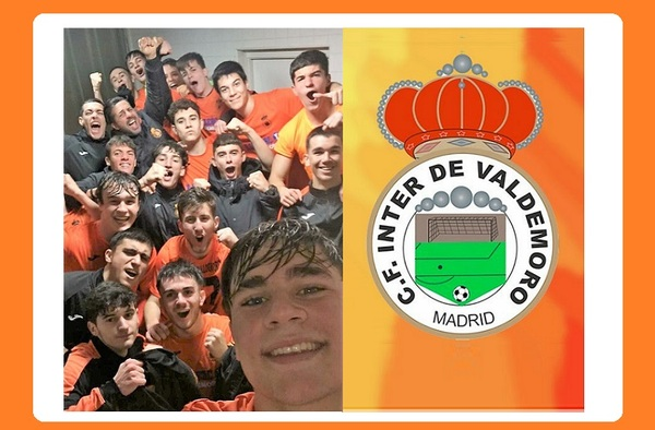 El C.F. Inter de Valdemoro Juvenil logra el ascenso a Preferente tras la finalización de la temporada 2019/20