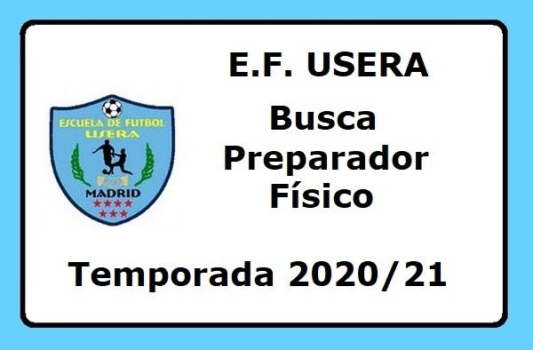 La EF Usera busca Preparador Físico para la temporada 2020/21