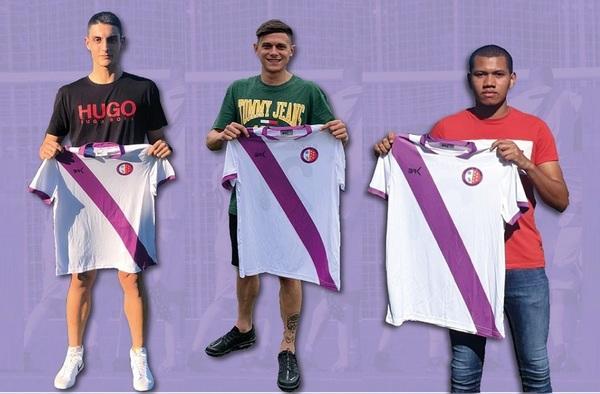 Michi, David Crespo y Eric, fichajes de la E.F. Carabanchel para la temporada 2020/21