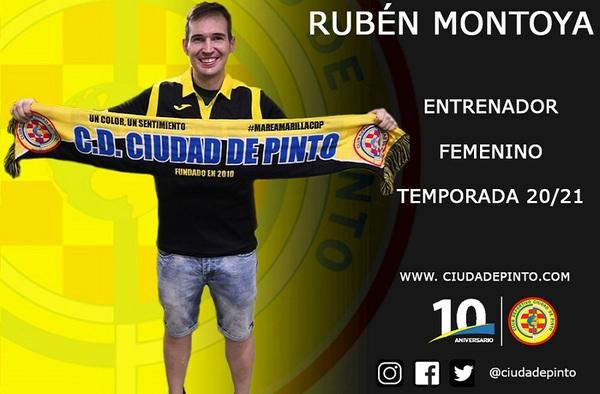 Rubén Montoya guiará el sueño del Sénior femenino del C.D. Ciudad de Pinto