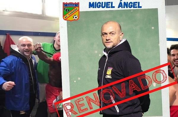 Miguel Ángel Núñez renueva como entrenador del Atlético Cañada Alcorcón tras el ascenso a Primera Regional