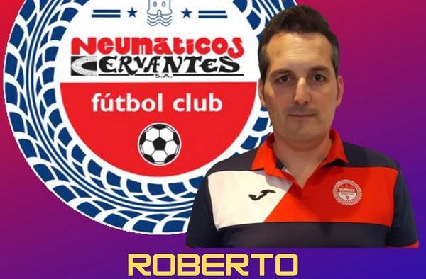 Roberto De la Fuente seguirá por sexta temporada consecutiva en el banquillo del Neumáticos Cervantes FC