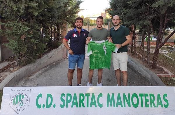 Refuerzo en la portería del C.D. Spartac de Manoteras con el fichaje de Ángel Castañeda