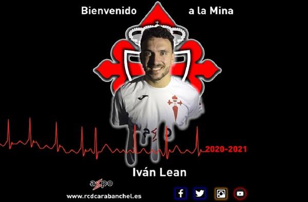 Iván Lean, refuerzo para el centro del campo del Real CD Carabanchel