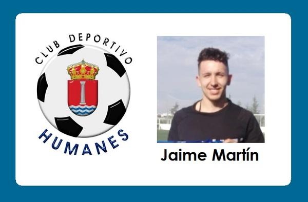 El C.D. Humanes firma al portero Jaime Martín tras su vuelta a Preferente - Temporada 2020/21