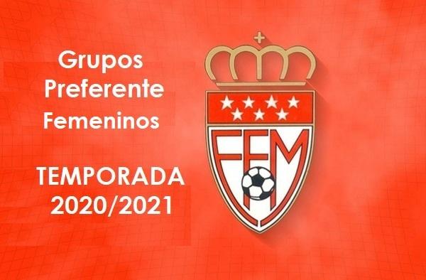 El fútbol femenino ya tiene confeccionados los grupos de Preferente para la temporada 2020-2021 en Aficionados, Juvenil y Cadete