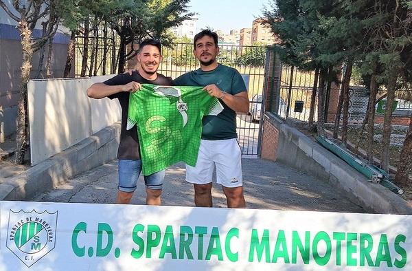 """El C.D. Spartac de Manoteras presenta a Adrián Sánchez """"Cubo"""", como nuevo entrenador del equipo Juvenil"""