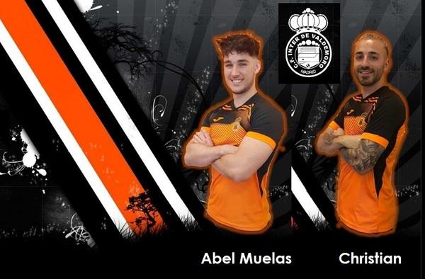 Más poder ofensivo para el CF Inter de Valdemoro con la incorporación de Abel Muelas y Christian Caló