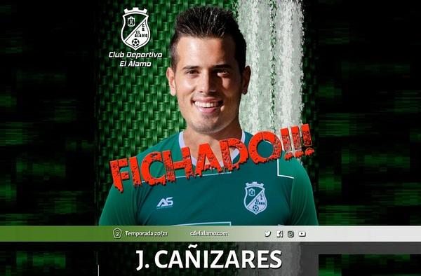 """El C.D. El Álamo incorpora a su proyecto 2020/21 al futbolista gallego Jesús Cañizares """"Cañi"""""""