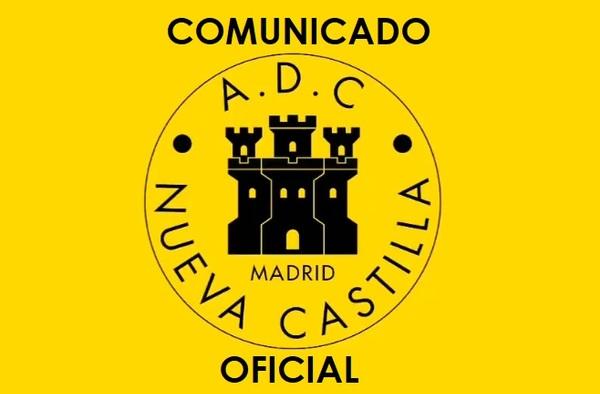 La ADC Nueva Castilla no suscribe el comunicado-manifiesto que firmaron clubes vallecanos