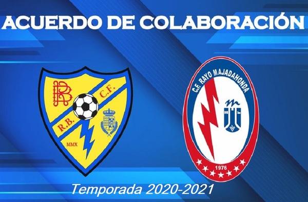Acuerdo de colaboración entre el CF Rayo Majadahonda y el Rayo Brunete CF - Temporada 2020/2021