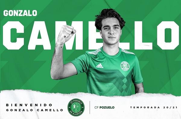 Gonzalo Camello jugará cedido en el C.F. Pozuelo de Alarcón en la temporada 2020/21