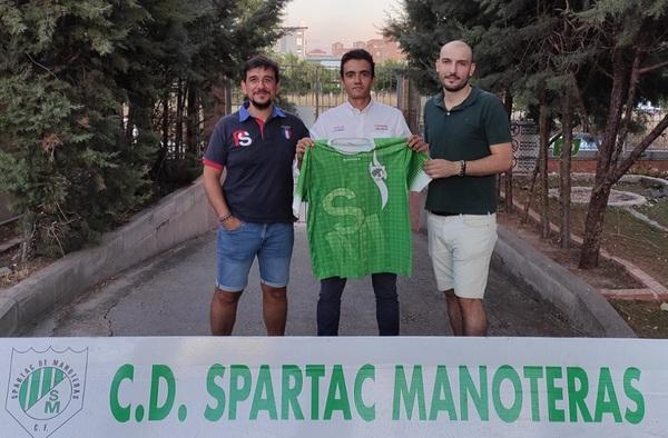 El Spartac de Manoteras continúa reforzándose, llega Jaime Alcázar