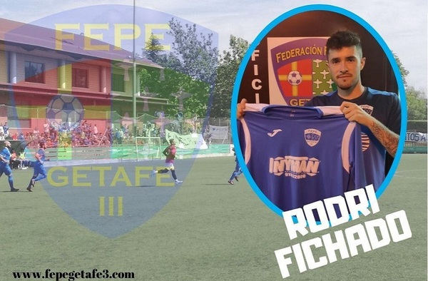 """Rodrigo Espejo """"Rodri"""", fichaje del FEPE Getafe III para la temporada 2020/21"""