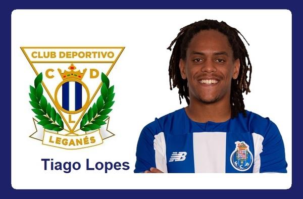 El portugués Tiago Lopes firma por el C.D. Leganés, ya cuenta con ficha en el filial