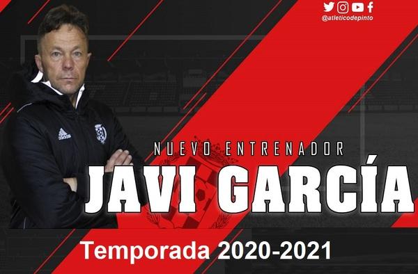 Javi García es el elegido por el Atlético de Pinto para ocupar el banquillo