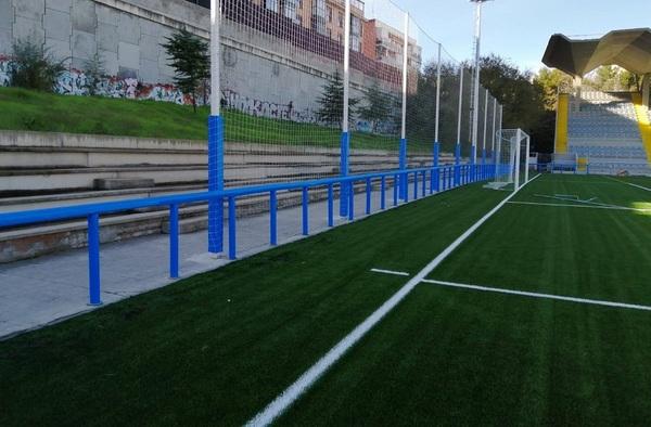 El CDM Antiguo Canódromo, más seguro para los futbolistas