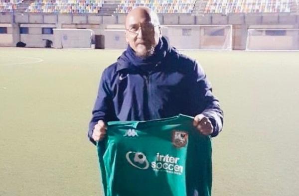 """Manolo Navascués presentado como nuevo entrenador del Alcobendas CF Intersoccer """"B"""""""