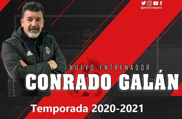 Conrado Galán se convierte en el nuevo entrenador del Atlético de Pinto Femenino