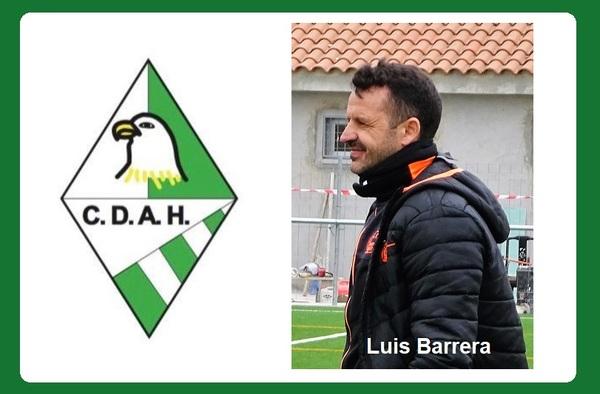 El C.D. Alzola Halcones ya tiene técnico, dirigirá el equipo a partir de ahora Luis Barrera