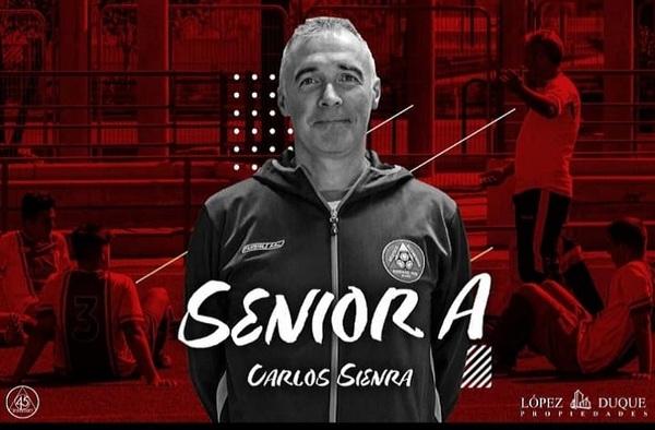 Entrevista a Carlos Sienra, entrenador del ACR Atlético Alcobendas (Temporada 2020/21)