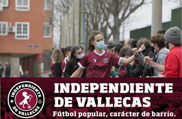 El C.D. Independiente de Vallecas busca jugadoras juveniles y sénior para su equipo de Primera Femenina - Temporada 2020/21