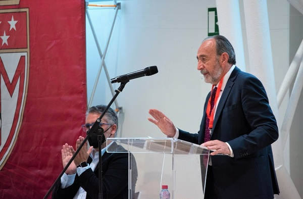 Paco Díez, reelegido Presidente de la Real Federación de Fútbol de Madrid hasta 2024
